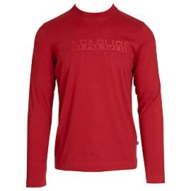 Napapijri Serber Long shirt heren red scarlet