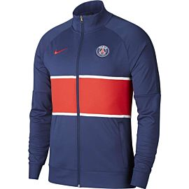 Nike Paris Saint-Germain trainingsjack heren midnight navy