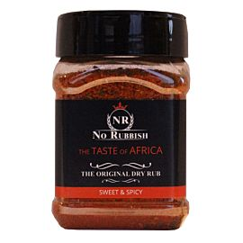 No Rubbish Taste of Africa rub