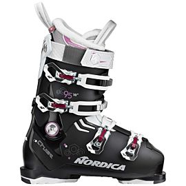 Nordica The Cruise 95 W skischoenen dames black white purple