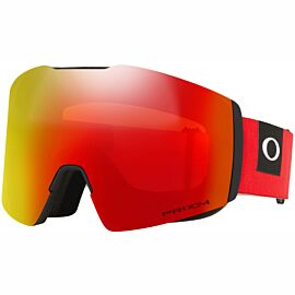 Oakley Fall Line XL skibril blockedout red