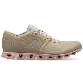 On Cloud X 20-99904 hardloopschoenen dames sand rose