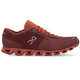 On Cloud X 20-99905 hardloopschoenen heren siena rust