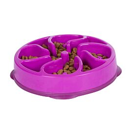 Outward Hound Fun Feeder Slo Bowl Mini voerbak paars