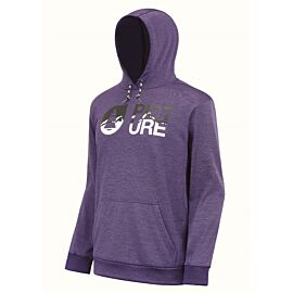 Picture Baxter Tech hoodie heren purple melange