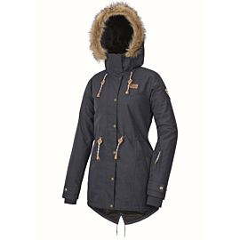 Picture Katniss winterjas dames dark blue