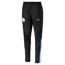 Puma Manchester City FC Pro trainingsbroek junior puma black team light blue