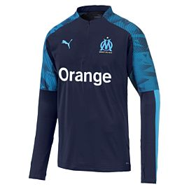 Puma Olympique Marseille trainingstrui peacoat