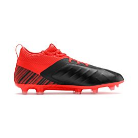Puma One 5.2 FG AG 105618 voetbalschoenen black energy red