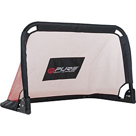 Pure2Improve voetbal goal 90x60x60 red black