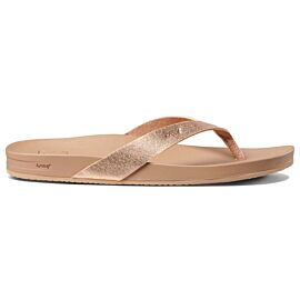 Reef Cushion Bounce Court slippers dames rose gold