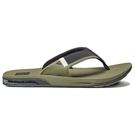 Reef Fanning Low slippers heren olive