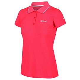 Regatta Maverick V polo dames neon pink