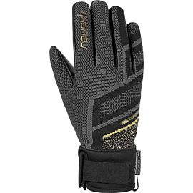 Reusch Re Knit Victoria R-TEX XT handschoenen dames black gold