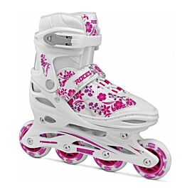 Roces Compy 8.0 Girl inline skates dames white violet