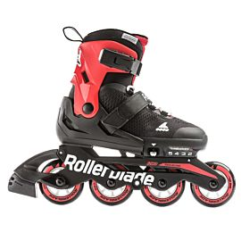 Rollerblade Microblade inline skates junior black red