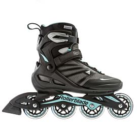 Rollerblade Zetrablade W inline skates dames black light blue