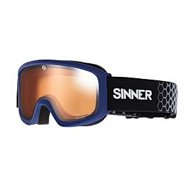 SINNER Duck Mountain skibril junior matte dark blue