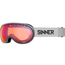 SINNER VORLAGE S skibril matte light grey