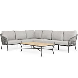 SUNS Nappa loungeset matt royal grey