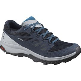 Salomon Outline GTX L40797000 wandelschoenen heren navy blaze quarry