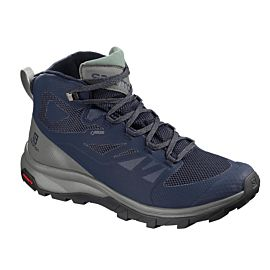 Salomon Outline Mid GTX L40476400 bergschoenen heren medieval blue