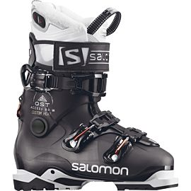 Salomon QST Access Custom Heat skischoenen dames anthracite translucent