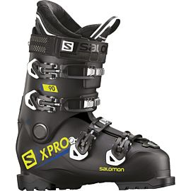 Salomon X Pro 90 skischoenen heren black acid green
