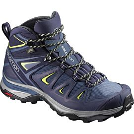 Salomon X Ultra 3 Mid GTX L39869100 bergschoenen dames crown blue