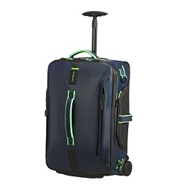Samsonite Paradiver Light 55 koffer night blue fluo green