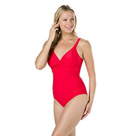 Speedo Brigitte badpak dames red
