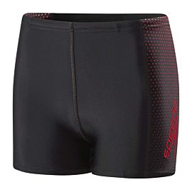 Speedo Gala Logo zwemboxer junior black red