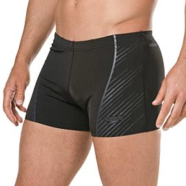 Speedo Sport Panel zwemboxer heren black grey