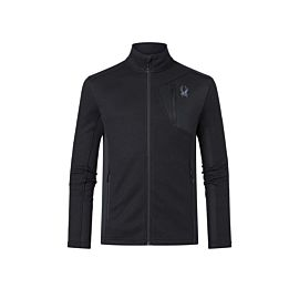 Spyder Bandit fleece vest heren black