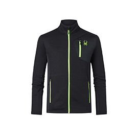 Spyder Bandit fleece vest heren black mojito