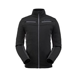 Spyder Wengen Encore fleece vest heren black