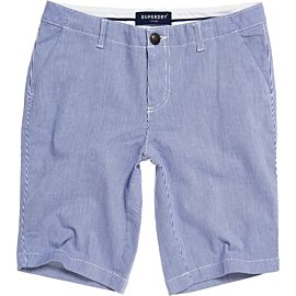 Superdry City Chino short dames navy stripe