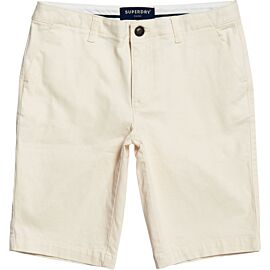Superdry City Chino short dames oyster