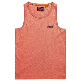 Superdry Orange Label Vintage singlet heren grenadine grit