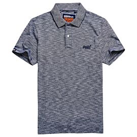 Superdry Orange Label polo heren navy feeder