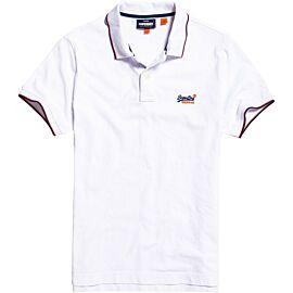 Superdry Poolside Pique polo heren optic