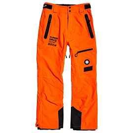 Superdry Pro Racer Rescue skibroek heren hazard orange