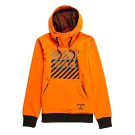 Superdry Snow Tech Hoodie winterjas heren havana orange