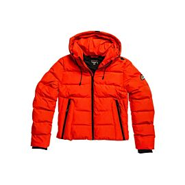 Superdry Spirit Sports Puffer winterjas dames apple red