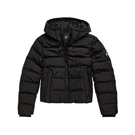 Superdry Spirit Sports Puffer winterjas dames black