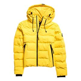 Superdry Spirit Sports Puffer winterjas dames nautical yellow