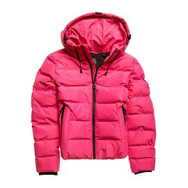 Superdry Spirit Sports Puffer winterjas dames pink