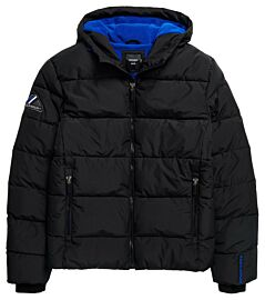 Superdry Sports Puffer winterjas heren black
