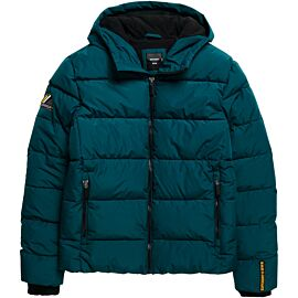 Superdry Sports Puffer winterjas heren pine black