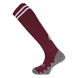 The Indian Maharadja kneehigh hockeysokken bordeaux